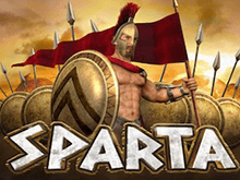 Sparta - новая игра на Вулкан
