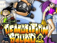Demolition Squad от Netent на зеркале топ-клуба