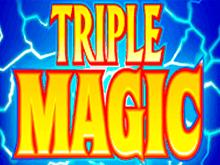 Автомат в казино онлайн Вулкан Тройная Магия
