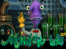 Играть в увлекательный игровой автомат онлайн Monster Lab