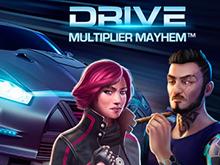 Онлайн слот с потрясающей графикой и сюжетом Drive: Multiplier Mayhem